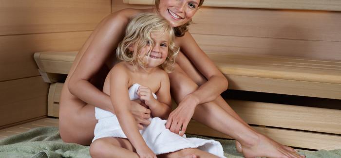 Jak je to se saunováním u dětí?